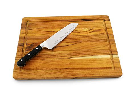 Knife Blocks terra teak medium cutting board cuttingboard com