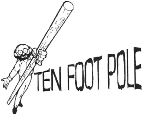 ten foot pole the king is dead live the king forward now