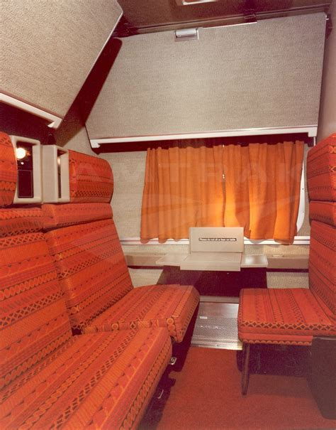 Superliner Sleeper by Superliner I Family Bedroom 1980s Amtrak History Of