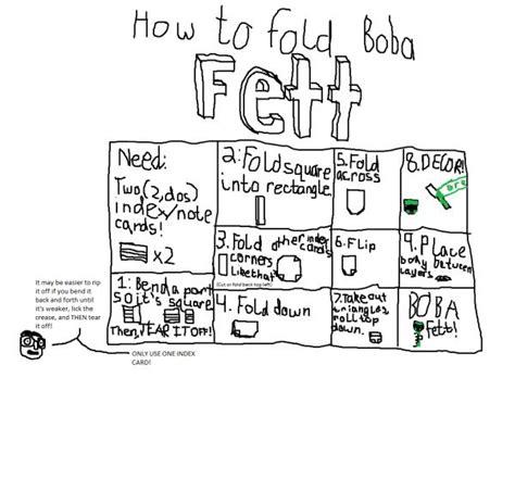 Boba Fett Origami - boba fett search results origami yoda page 13