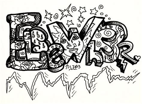graffiti art coloring page free graffiti 4 coloring pages