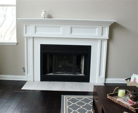 fireplace remodel the before the happily after delightfully noted