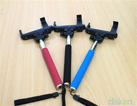 Tongsis Rubber jual tongsis monopod black holder l size big 8 5 cm max lebar hp frey grosir