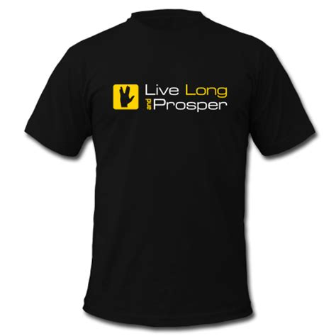 Tshirt Live And Prosper live prosper t shirt