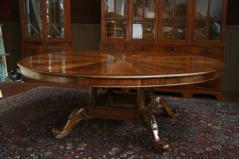 large round dining room table large oversized round dining table large round mahogany