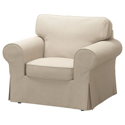 Covers For Armchairs by Ektorp Armchair Nordvalla Beige