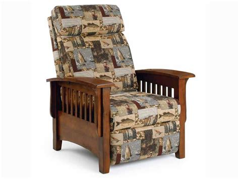 mission recliner chair best home furnishings living room three way mission