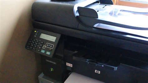 hp laserjet cp1025nw cold reset hp laserjet m1212nf fax button reset youtube