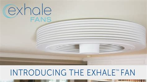 bladeless ceiling fan home depot a revolutionary bladeless ceiling fan by exhale fans