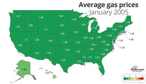 california map gas prices how much is your state paying for a gallon of gas