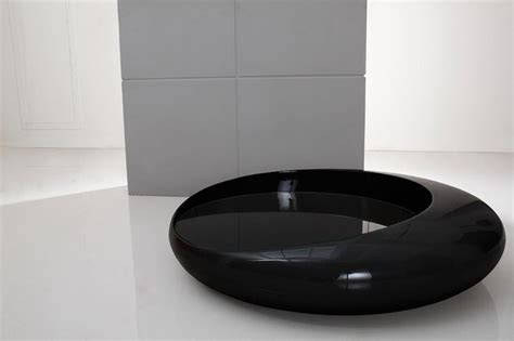futuristic coffee table futuristic glossy black coffee table galaxy modern