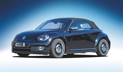 Vw Beetle Cabrio Tieferlegung by H R Sportfedern F 252 R Das Neue Vw Beetle Cabriolet Znpp