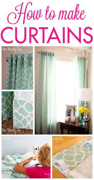 how to make simple curtains without a sewing machine best 25 diy curtains ideas on pinterest easy curtains