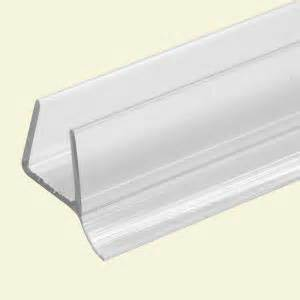 shower door seal home depot prime line 3 8 in x 36 in clear frameless shower door