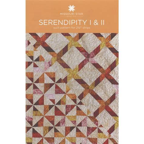 serendipity 1 2 quilt pattern sku pat864 missouri
