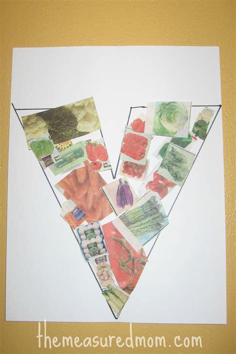 letter v vegetables 8 crafts for letter v the measured