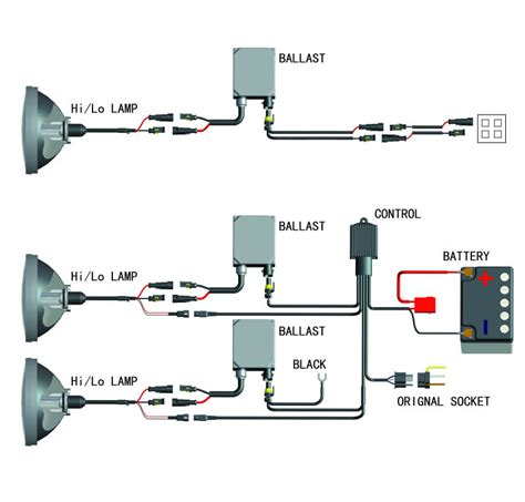 xentec hid wiring diagram 25 wiring diagram images