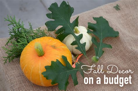 fall decorating on a budget decorate for fall without spending a fortune newlywed