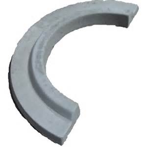 Patio Concrete Stain Ideas Shop Gray Tree Ring Edging Stone Common 3 In X 24 In