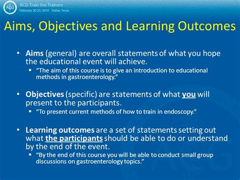 statement of educational objectives principles of education ppt