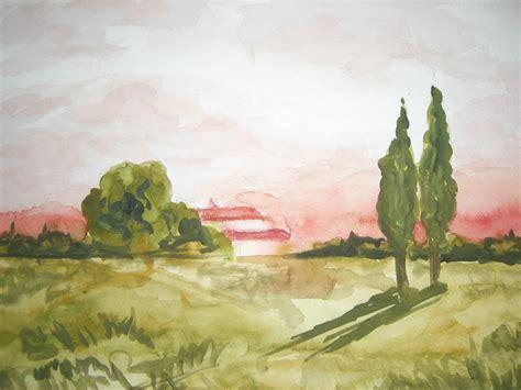 imagenes de paisajes en acuarela dos paisajes a la acuarela el blog de paloma sabio