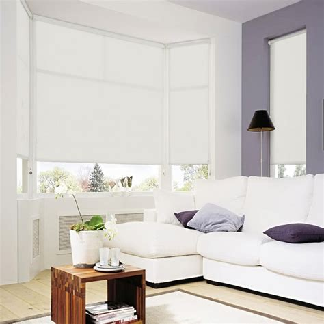 tende rullo tenda a rullo su misura e lavabile colore bianco