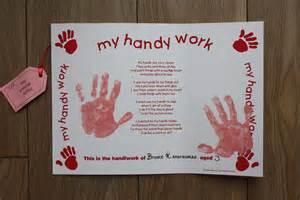 Gifts british fingerprint handprint amp footprint keepsake ideas