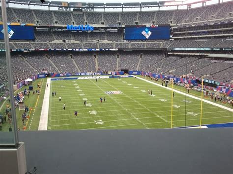 section 203a metlife stadium section 203a giants jets rateyourseats com