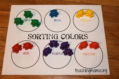 pattern and sorting games hands on math activities for preschoolers