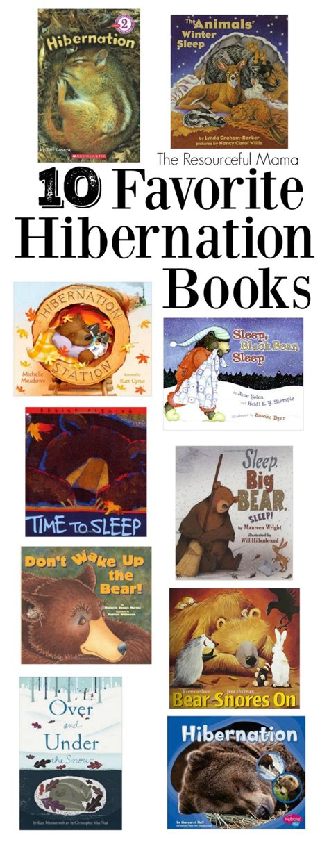 the winter station books favorite hibernation books the resourceful