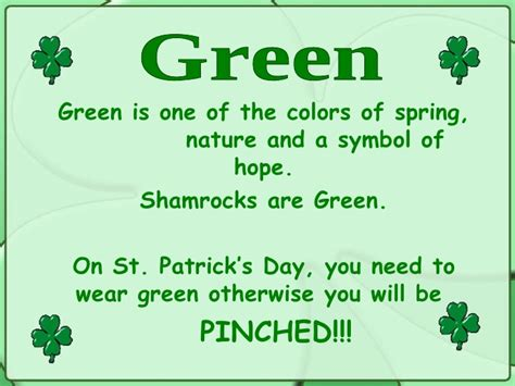Happy St Pattys Day Are You Wearing Green st day