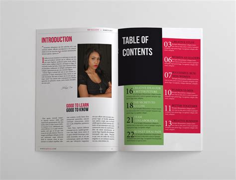 magazine templates for pages business magazine template 24 pages magazines