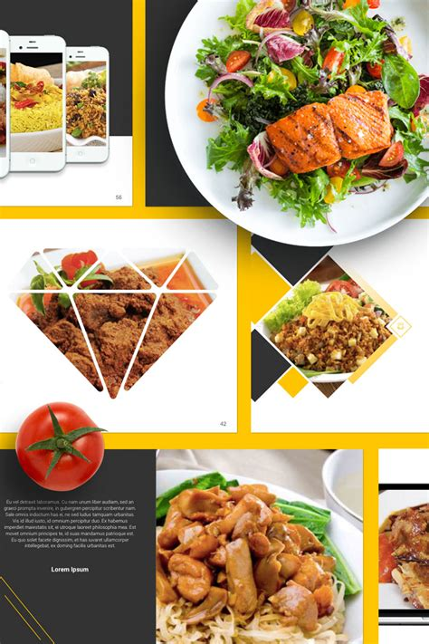 Food Presentation Powerpoint Template 67553 Food Presentation Template