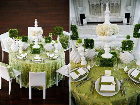 Green Decorating Idea by Green White Wedding Ideas Green Wedding Shoes