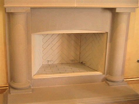 stainless steel fireplace tray installation