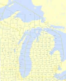 County Map Of Michigan by Online Maps Michigan County Map