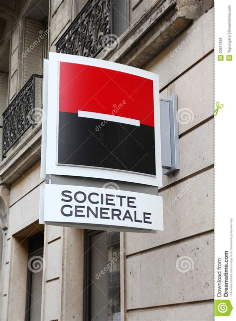 societe generale bank on web societe generale bank editorial photo image 20817596