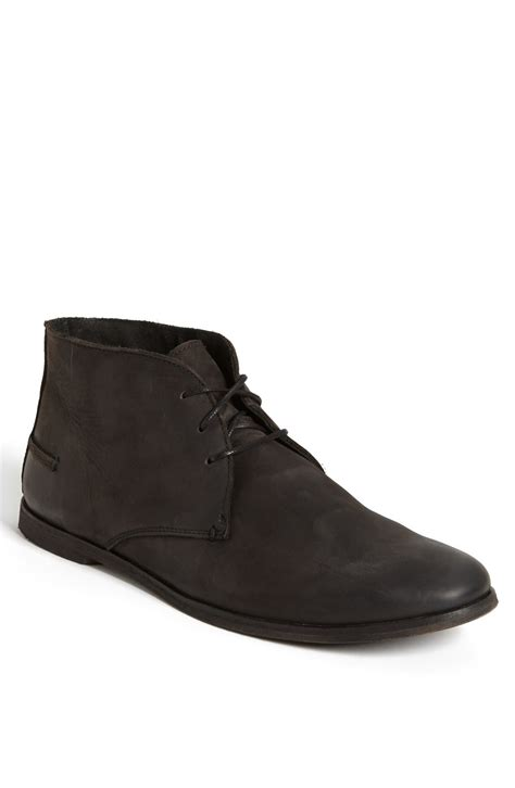 River Island Black Kickers kickers river 5 chukka boot in black for lyst