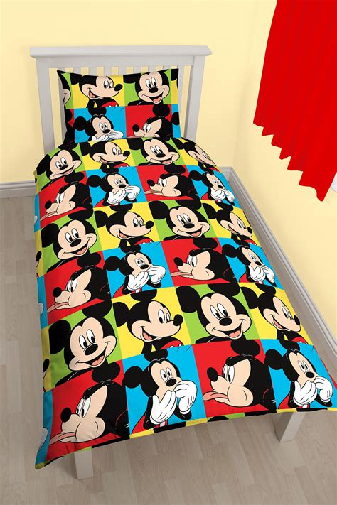 Bedcover Set Single No3 Motif Mickey Mouse new disney mickey mouse bright single duvet quilt cover