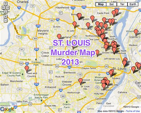 map st louis riots the 10 most deadly places to live in america
