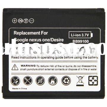 100 Original Battery Htc Bb99100 Desire G7 Nexus One for htc desire battery for htc desire battery