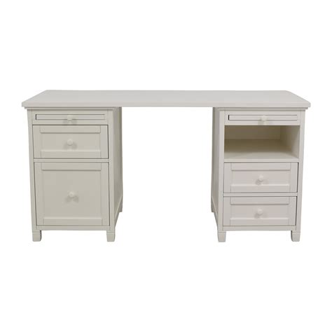 pottery barn white desk whit buy