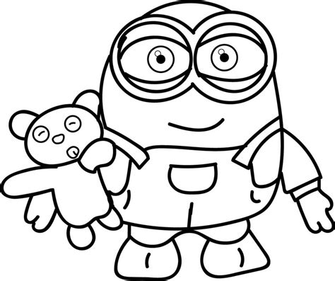 baby minions coloring pages coloring pages minions coloring pages minion