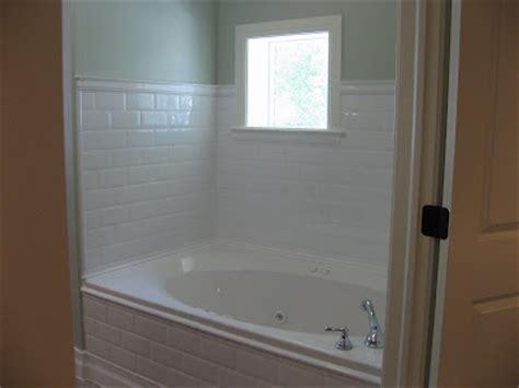 Tile Trim Around Bathtub by Curb Appeal Master Bathroom