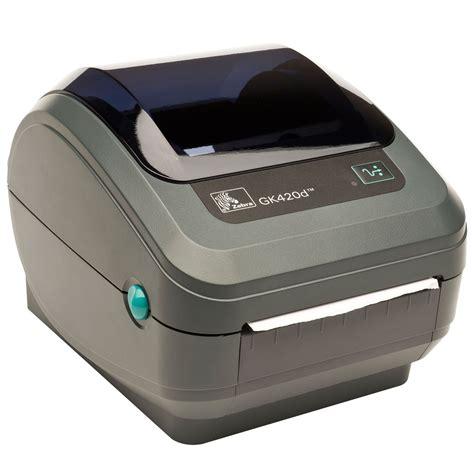 Ac Zebra zebra gk420d direct thermal termisk labelprinter