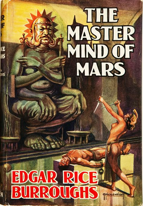 The Master Mind Of Mars the master mind of mars 1939 pulp covers