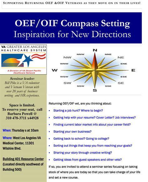 oef oif compass setting va greater los angeles