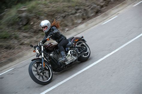 How To Ride A Harley Davidson For The Time by Ride Harley Davidson Breakout Review Visordown