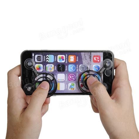 mini plastic fling joystick joypad handle controller for iphone 6 sale banggood sold out