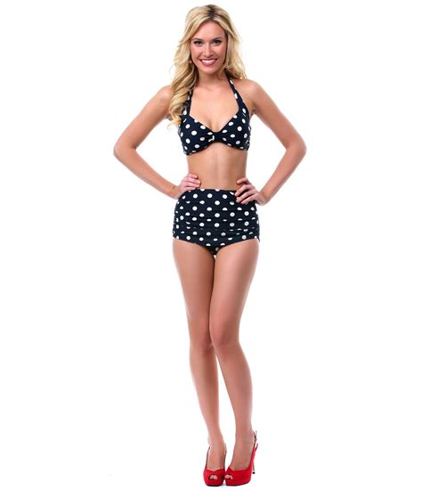 Retro Inspired Bikinis by Swimwear Retro High Waisted Shop For